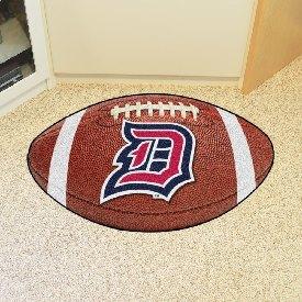 Duquesne Football Rug 20.5x32.5
