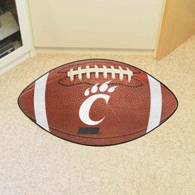 Cincinnati Football Rug 20.5x32.5