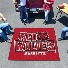 Arkansas State Tailgater Rug 5'x6'