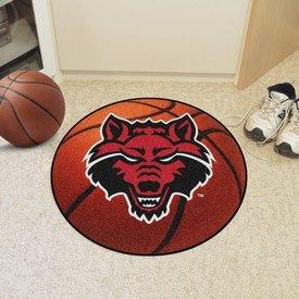 Arkansas State Basketball Mat 27 diameter