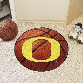 Oregon Basketball Mat 27 diameter