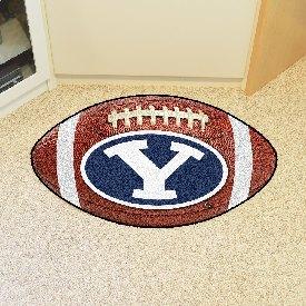 BYU Football Rug 20.5x32.5