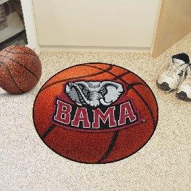 Alabama Basketball Mat 27inch diameter