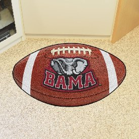 Alabama Football Rug 20.5 inch x 32.5inch