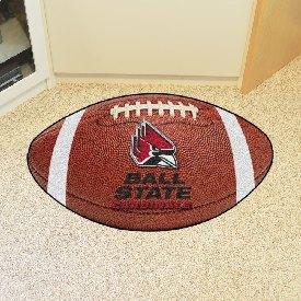 Ball State Football Rug 20.5x32.5