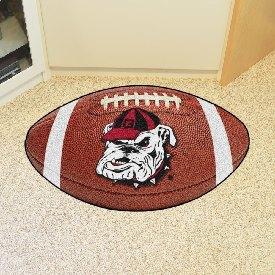 Georgia Bulldogs Football Rug 20.5x32.5