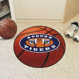 Auburn Basketball Mat 27 diameter