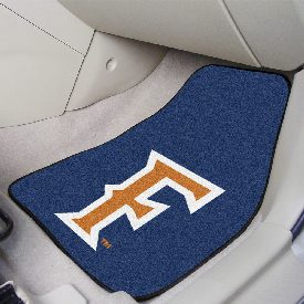 Cal State - Fullerton 2-piece Carpeted Car Mats 17x27