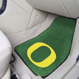Oregon 2-piece Carpeted Car Mats 17x27