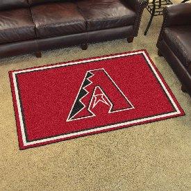 MLB - Arizona Diamondbacks Rug 4'x6'
