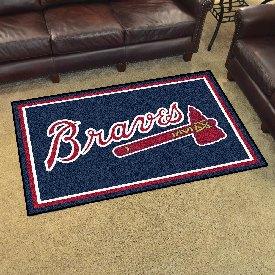 MLB - Atlanta Braves Rug 4'x6'