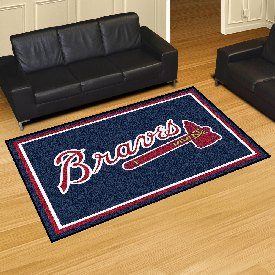 MLB - Atlanta Braves Rug 5'x8'