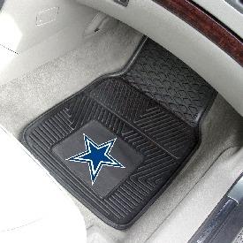 NFL - Dallas Cowboys Heavy Duty 2-Piece Vinyl Car Mats 17x27