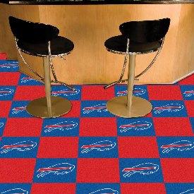 NFL - Buffalo Bills Carpet Tiles 18x18 tiles