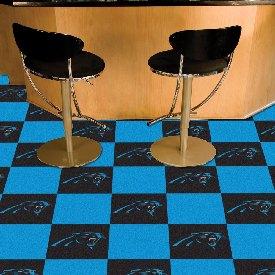 NFL - Carolina Panthers Carpet Tiles 18x18 tiles
