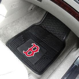 MLB - Boston Red Sox Heavy Duty 2-Piece Vinyl Car Mats 17x27