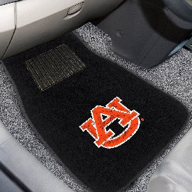 Auburn 2-piece Embroidered Car Mats 18x27