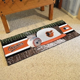 MLB - Baltimore Orioles Baseball Runner 30x72