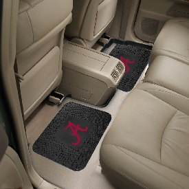 Alabama Backseat Utility Mats 2 Pack 14x17