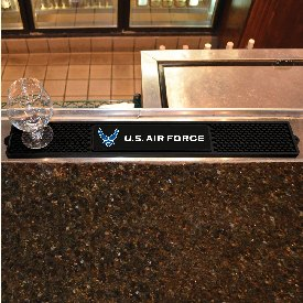 Air Force Drink Mat 3.25x24