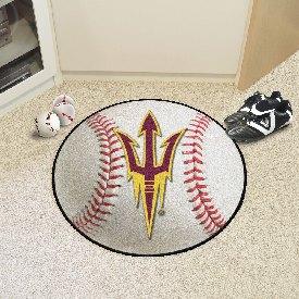 Arizona State Baseball Mat 27 diameter