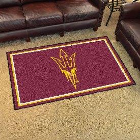 Arizona State Pitchfork Rug
