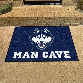 Connecticut Man Cave All-Star Mat 33.75x42.5