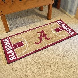 Alabama Basketball Court Runner 30x72