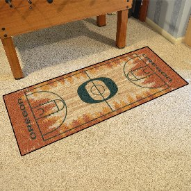 Oregon Basketball Court Runner 30x72
