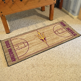 Arizona State Basketball Court Runner 30x72