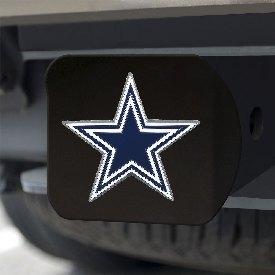 "NFL - Dallas Cowboys Color Hitch Cover - Black3.4""x4"""