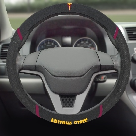 "Arizona State University Steering Wheel Cover 15""x15"""