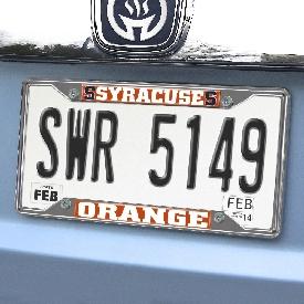 "Syracuse University License Plate Frame 6.25""x12.25"""