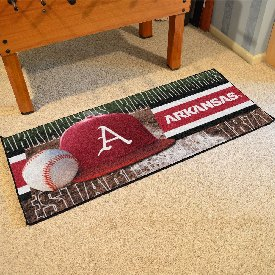 "Arkansas Baseball Runner 30""x72"""