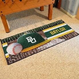 """Baylor Baseball Runner 30""""x72"""""""