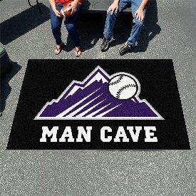"""Colorado Rockies Man Cave UltiMat - 59.5""""x94.5"""""""