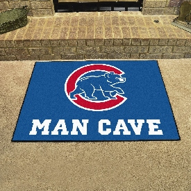 """Chicago Cubs Man Cave All-Star - 33.75""""x42.5"""""""