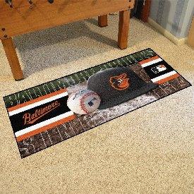 """Baltimore Orioles Baseball Runner - 30""""x72"""""""