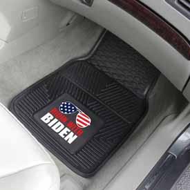 """2020 Joe Biden 2-pc Vinyl Car Mat Set 17""""x27"""""""