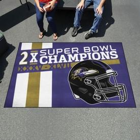"Baltimore Ravens Dynasty Ulti-Mat 59.5""x94.5"""