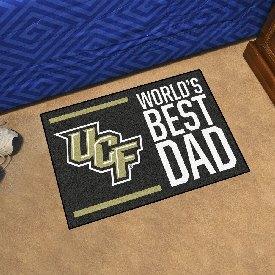 """Central Florida Starter Mat - World's Best Dad - 19""""x30"""""""