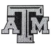 Texas A&M University Bling Decal 7