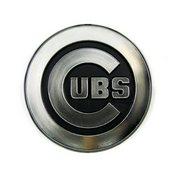 MLB - Chicago Cubs Molded Chrome Emblem 3.25 x 3.25 -