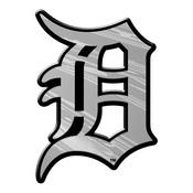 MLB - Detroit Tigers Molded Chrome Emblem 3.25 x 3.25 -