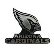 NFL - Arizona Cardinals Molded Chrome Emblem 3.25 x 3.25 -