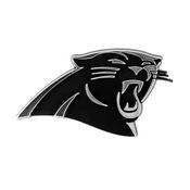 NFL - Carolina Panthers Molded Chrome Emblem 3.25 x 3.25 -
