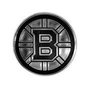 NHL - Boston Bruins Molded Chrome Emblem 3.25 x 3.25 -