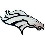 NFL - Denver Broncos Molded Chrome Emblem 3.25 x 3.25 -