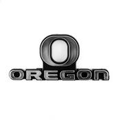 University of Oregon Molded Chrome Emblem 3.25 x 3.25 -