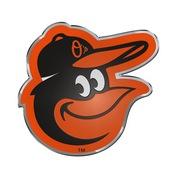 MLB - Baltimore Orioles Embossed Color Emblem 3.25 x 3.25 -